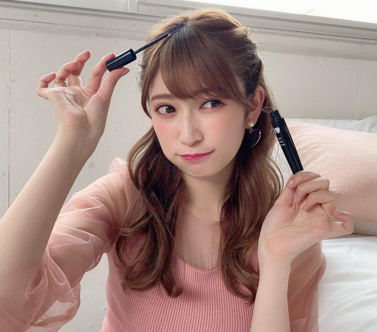 アカリンこと吉田朱里ちゃんプロデュースの前髪キープマスカラ、予約してきた!マスカラ型スタイリング剤は画期的過ぎる…。セットした髪にサッと塗るだけだで朝の前髪がキープだと。1月31日発売の1800円+税は安い