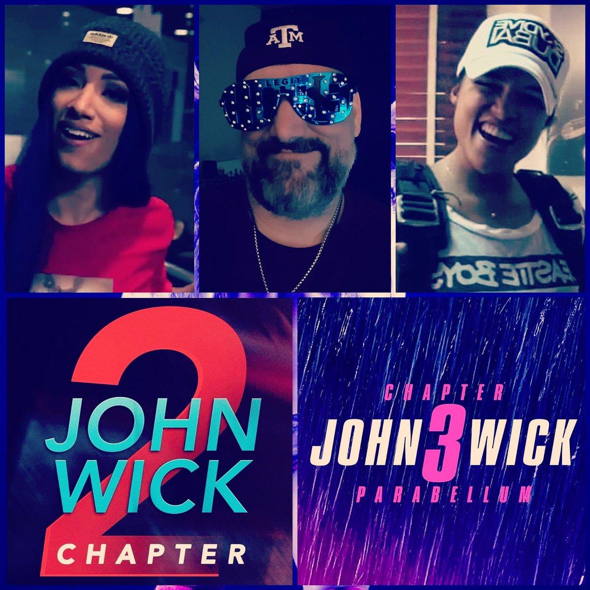 2nite #Movies Watching #JohnWick2 & #JohnWick3 y'all #Happy #Selfie #ActionCrimeThriller #mrodfamily #mrodlover #SashaKrew #LegitBlueprint pic.twitter.com/ib7L52A1D9