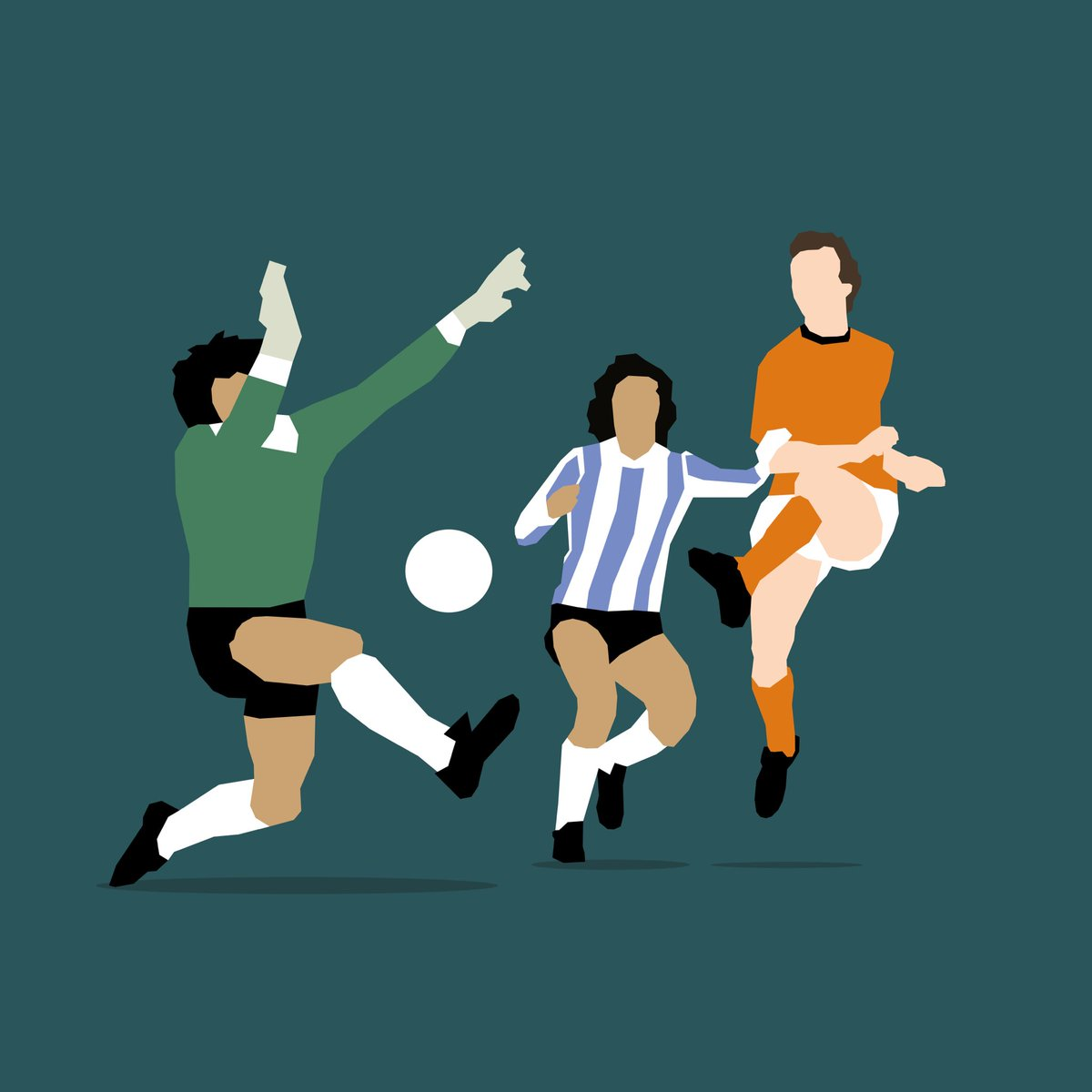 Rensenbrink voor altijd tegen de paal. WK finale - 25 juni 1978 - minuut 90:15. Rust zacht. #oranje #rensenbrink #robrensenbrink #wkfinale #illustratie #illustration #digitalart #footballart #voetbal #fussball #futbol https://t.co/FWz8xZlJoW