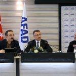 Image for the Tweet beginning: AFAD Başkanlığını ziyaret ederek #Elazığ