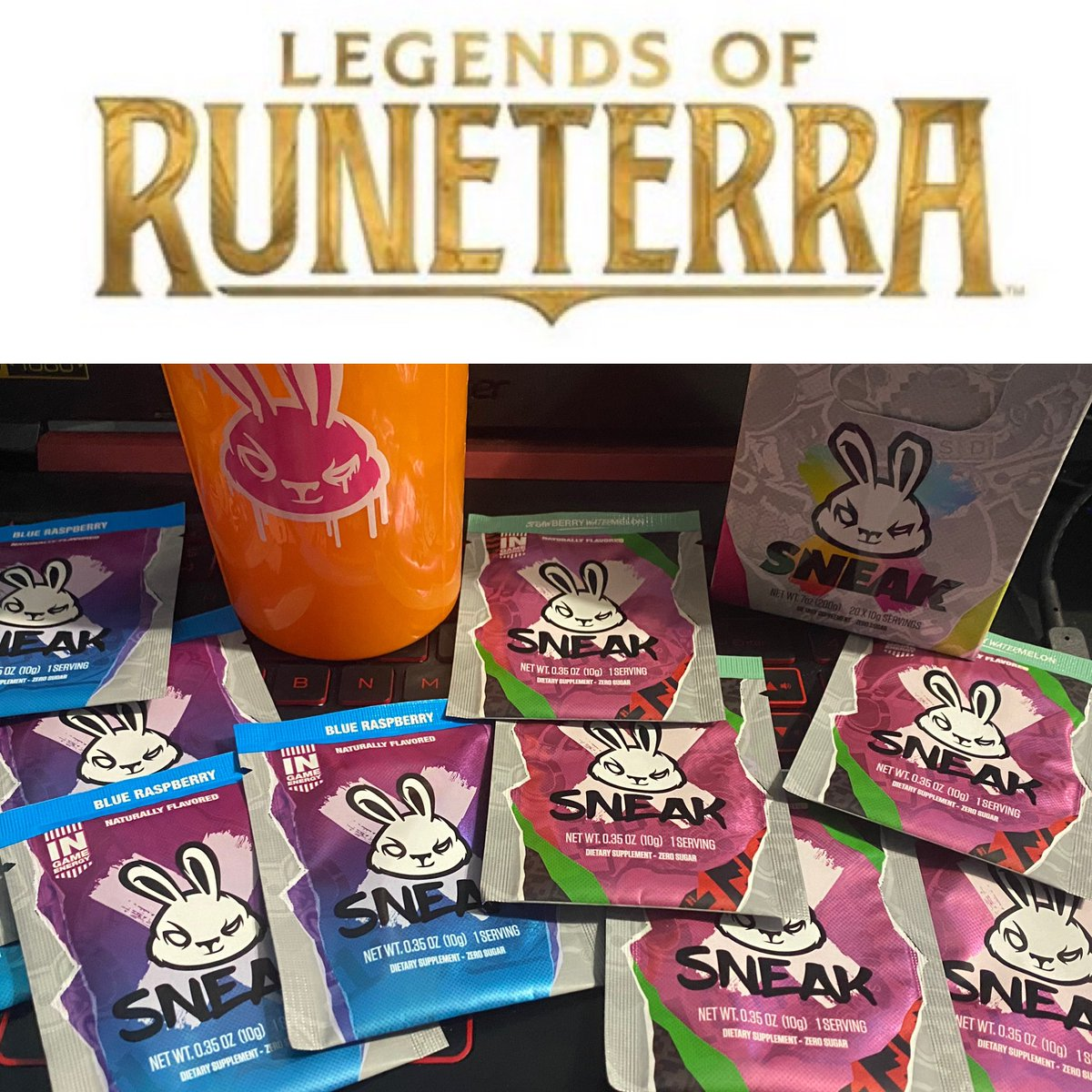 Decision have to be made! #wearesneak #sneakenergy #blueraspberry or #strawberrywatermelon  #LegendsOfRuneterra #gaming #steelseries #gamerslife #energy #drinking #videogames #pcgaming #bxa #bxagamingpic.twitter.com/Qf3o4h44Gq