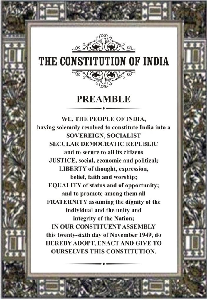 Happy 71st Republic Day.  Lets not Forget out Constitution.Jai Hind. 🇮🇳