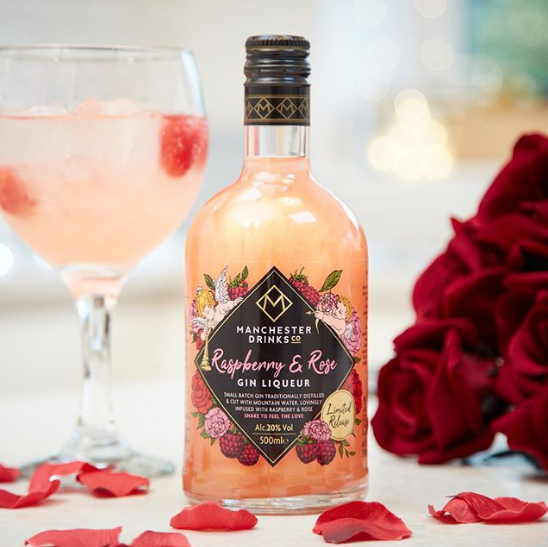 This Limited Edition Raspberry and Rose flavour Gin Liqueur is only £7.99 in store @homebargains now.   #drinkresponsibly <br>http://pic.twitter.com/0tc0yqmriU