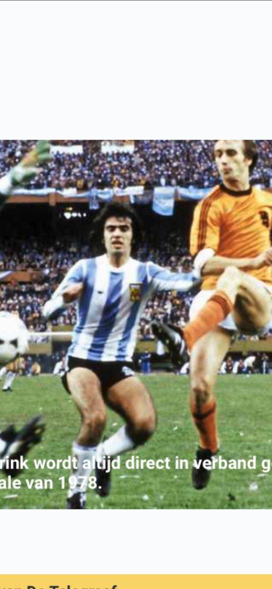 Er zijn momenten die je nooit vergeet zoals Rensenbrink  in WK finale tegen Argentinië de bal tegen paal schopte #Rensenbrink #wkfinale #goedemorgen #zondag #voetbal  #1978 https://t.co/oRXVprQzsi