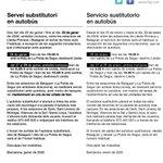 Image for the Tweet beginning: ℹ #ServeiFGC #FGC   📅 Fins