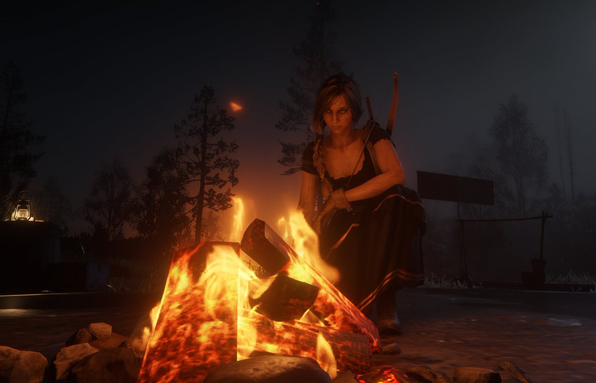 Returning to #RedDeadRedemption2 was just what I needed. I missed giving the sheriffs hell and adventuring/questing with @Gibz91. We ended up playing this all night which is perfect because I've been playing nothing but ESO lately so a change of scenery is what I needed. pic.twitter.com/peYBxqtVoY