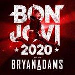Image for the Tweet beginning: Bon Jovi y Bryan Adams,