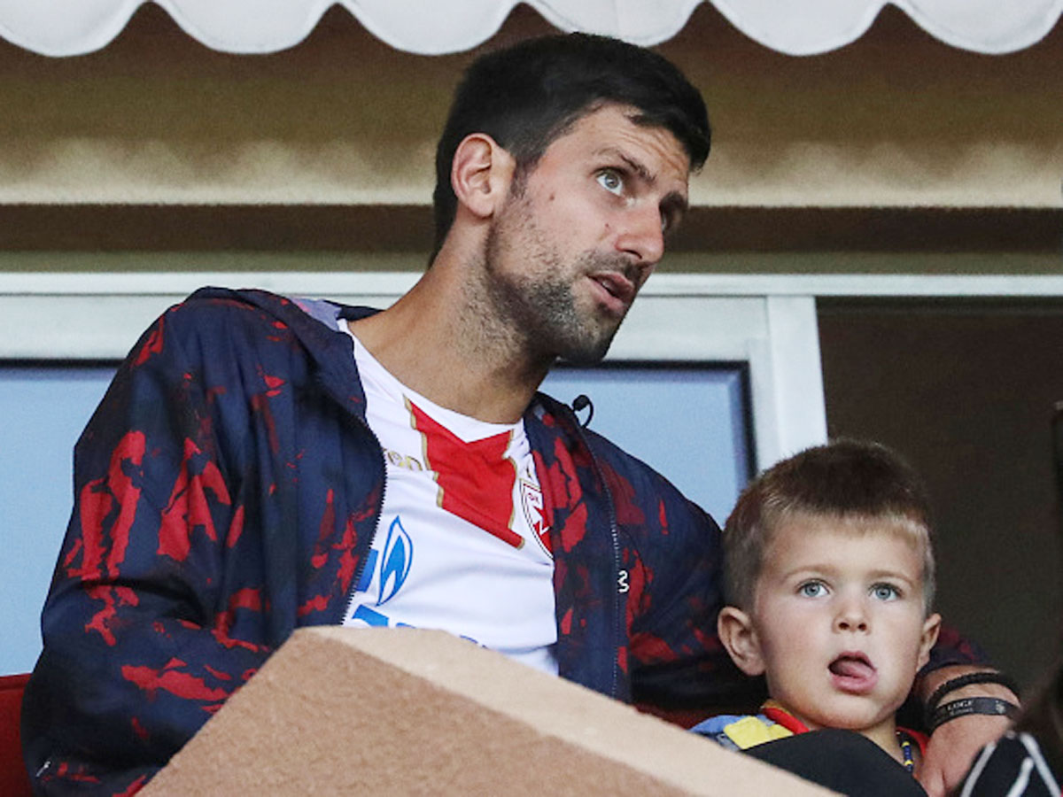 .@AustralianOpen: @DjokerNole's five-year-old son 'born with a backhand' READ: http://toi.in/aUGAbb/a24gk 🎾#AusOpen #AustralianOpen #Djokovic