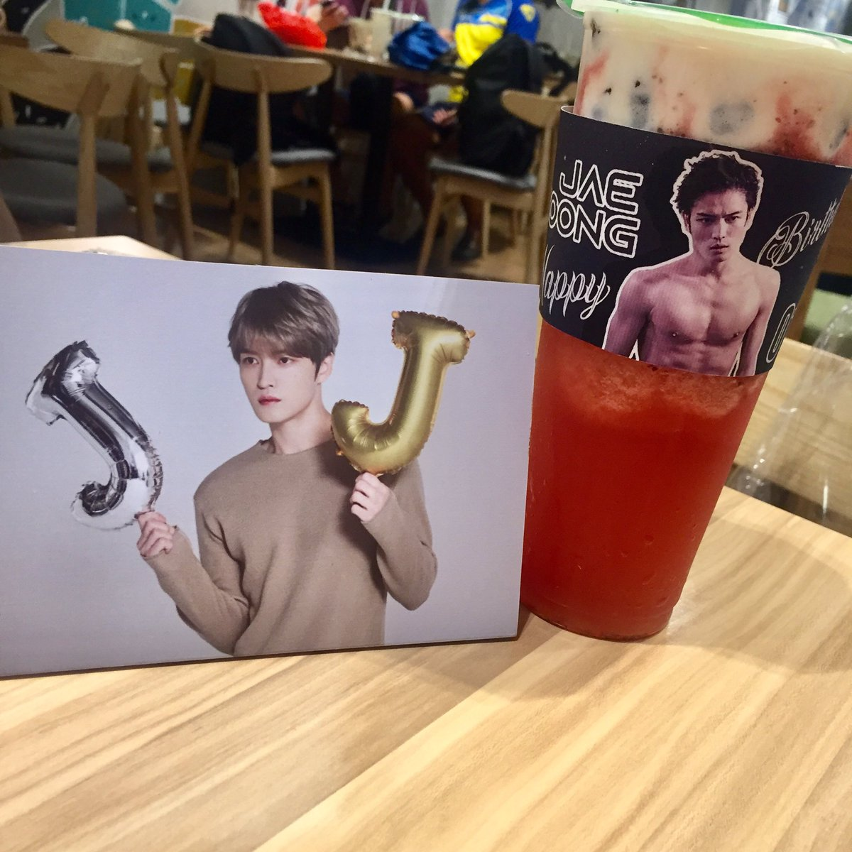 Now, I know what's the meaning of soft and hard stan  Also, thank you @cassph_cebu with the additional cupsleeve  ang bait nyo talaga always! Nakakainis na eh #김재중_생일축하한다_애요 #HAPPY_JAEJOONG_DAY #SUMMERINWINTERKJJ #ジェジュン #김재중 #JAEJOONGpic.twitter.com/CXPZbYx1kp