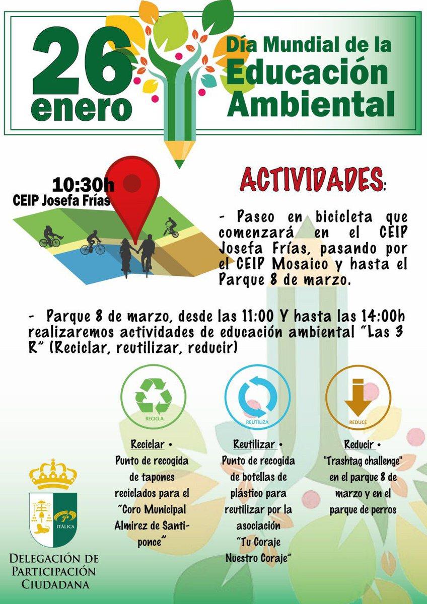 #DíaMundialDeLaEducaciónAmbiental muévete en transporte ecológico  y #ventealparquepic.twitter.com/Xd8r03j8d7