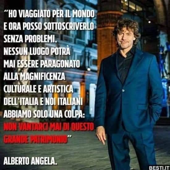#AlbertoAngela