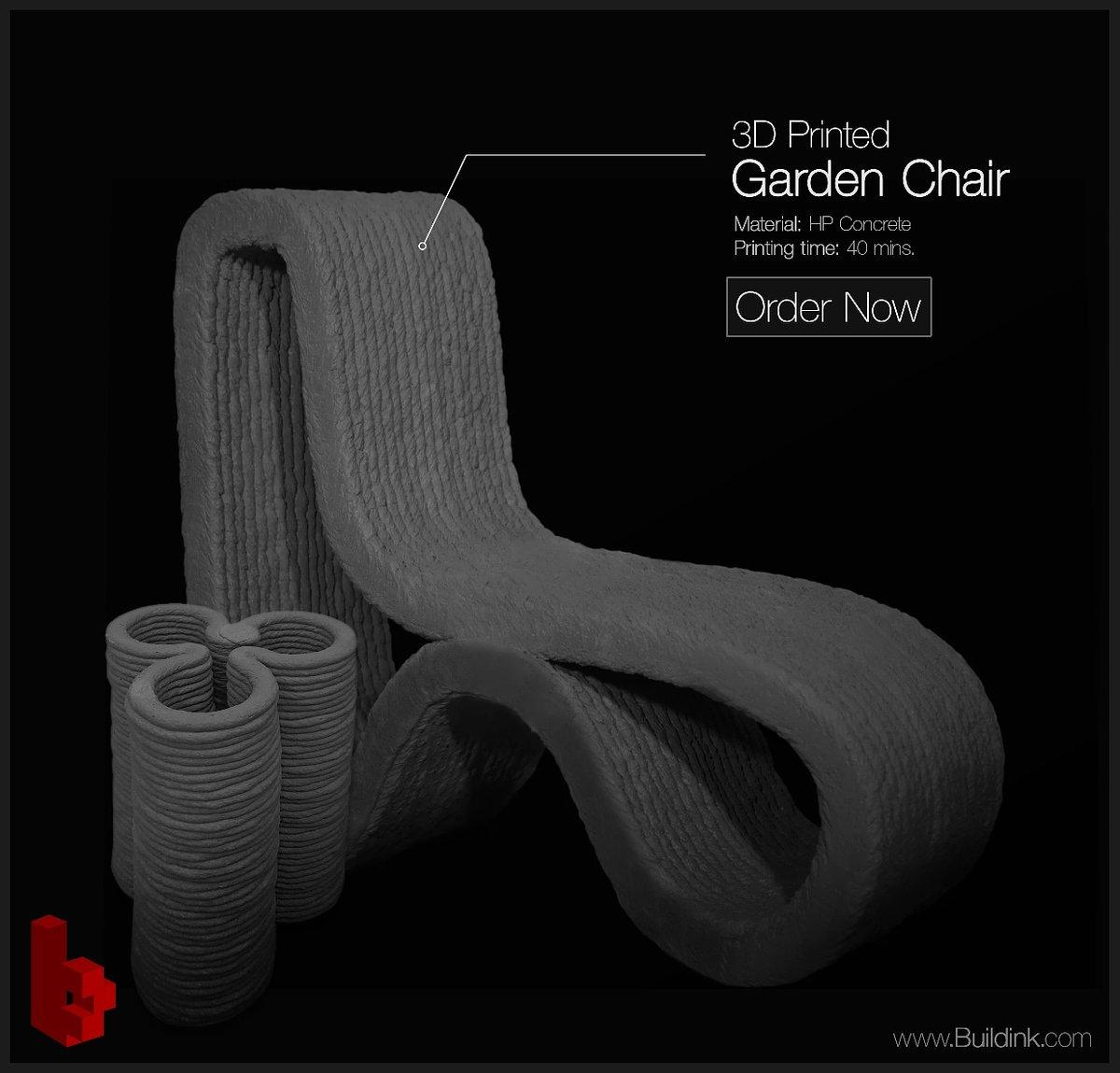 #3D #Concrete #Print custom #furniture in less than 1 hour! Starting from $20.  #digitalfabrication #3dconcreteprinting #3dcp #advanced #industry #manufacturing #structure #robotics #beton #interiordesign #architecture #additivemanufacturing #art #digital #fabrication #dubaipic.twitter.com/EbV8uH0hpR