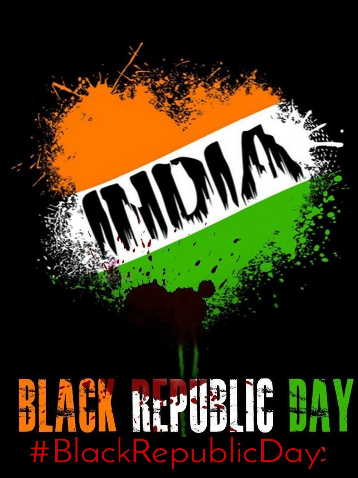 #BlackRepublicDay We believe that the Indian Government's longstanding, ongoing brutal suppression of the Kashmiri pro-self-determination movement has resulted in serious human rights violations against people of different faith traditions in Kashmir. pic.twitter.com/SnF2bCjE6u