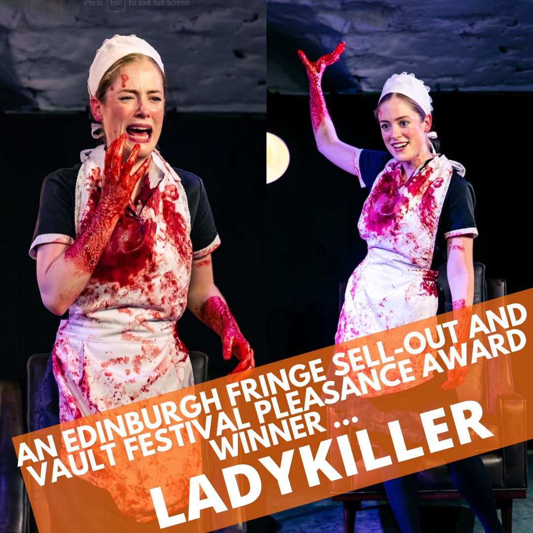 'a very funny and refreshingly offbeat comedy from The Thelmas' – The Stage  Ladykiller is coming to us Tue 10 Mar, tickets selling out fast! http://ow.ly/X5Ge50y3Sy4 pic.twitter.com/fNhG2RJ4S3