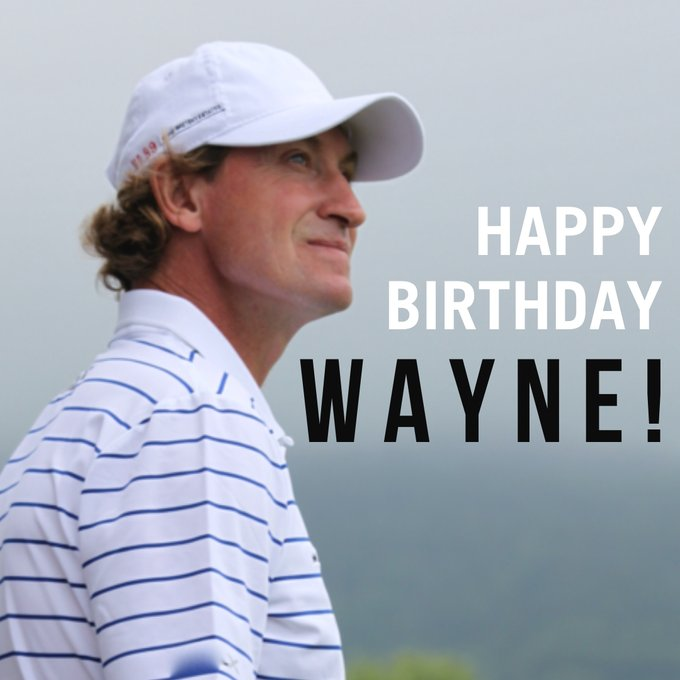 Happy Birthday to Wayne Gretzky. We hope you have a great day, Wayne! Cheers!