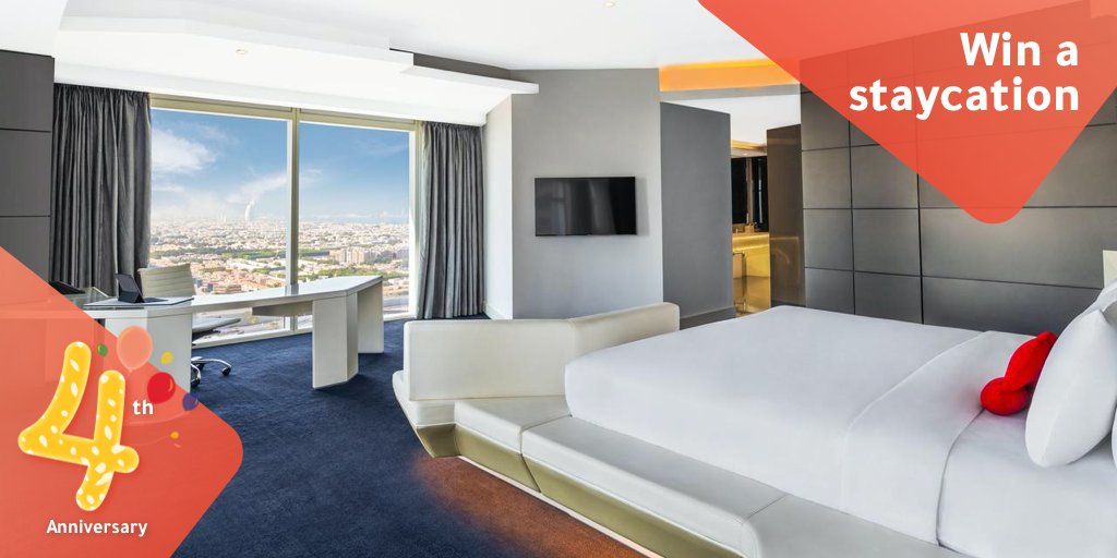 Win a one-night stay at @TheHDubai located in the heart of the city!  Enter the draw: http://ow.ly/C8h950y56LO  #UAE #mydubai #dubai #competition #ithappensath #win #tajawaltravel #tajawal  *****  Entries are open until 12pm, 2 Feb 2020.pic.twitter.com/HmobQwUEqn