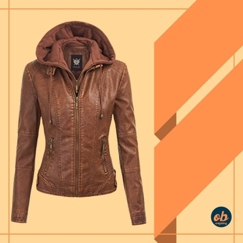 The Women hooded jacket is stylish, super soft and keeps you warm in winter and comes with multiple pockets. Buy Now https://buff.ly/36d9aiE #leatherjacket #leather #fashion #womenfashion #Jacketstylle #winterjacket #bikersjacket #womenstyle #fashionable #stylish #winterfashionpic.twitter.com/ANvt1UMX3s