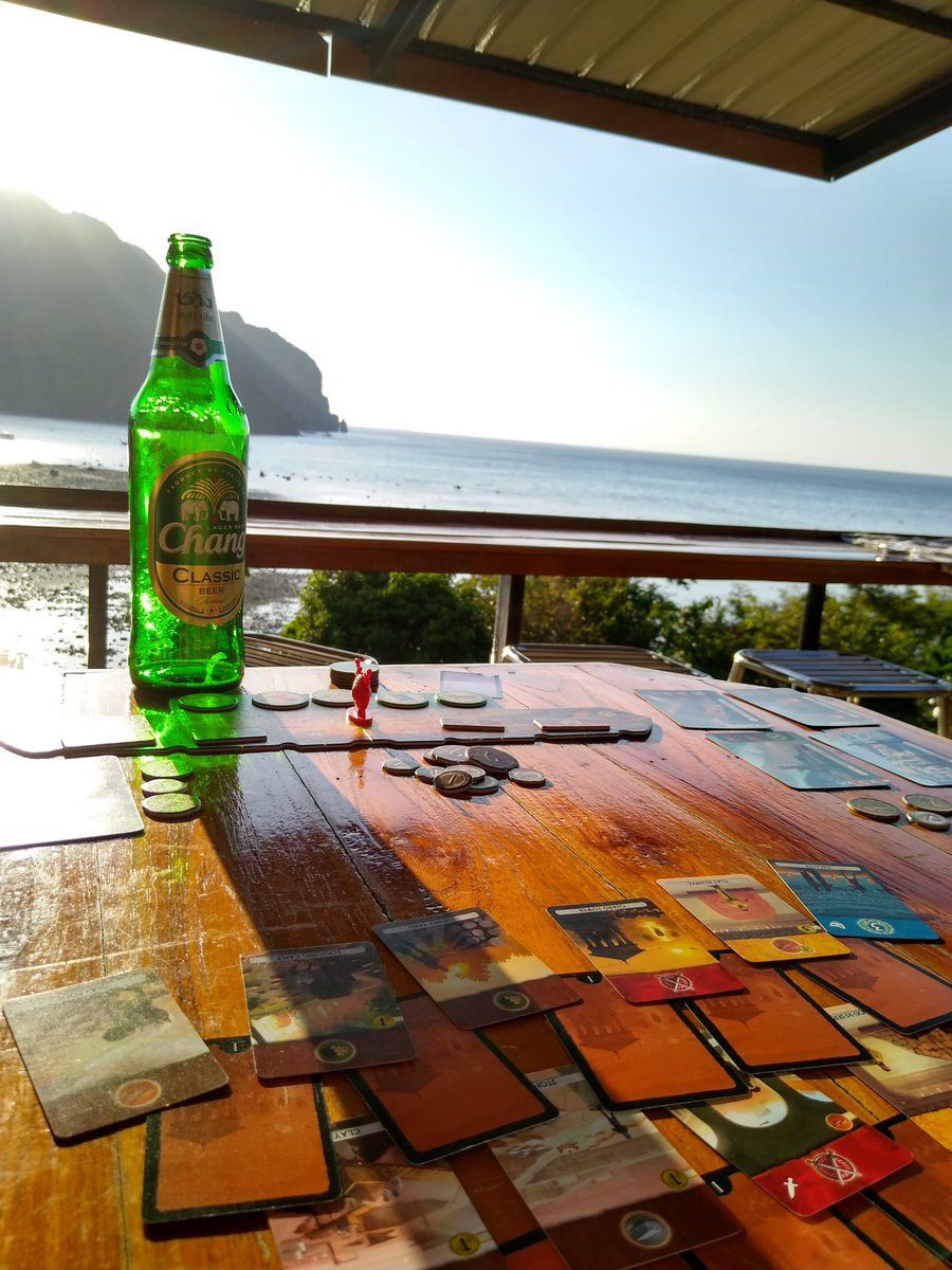 How do I use this photo to make money taking promo shots for beers and board games (preferably in Thailand) @ReposProduction @ChangBeerUK p.s. I won 2/3 games #7wonders #7wondersdual @BoardGameGeek pic.twitter.com/Ma0z5qUNae