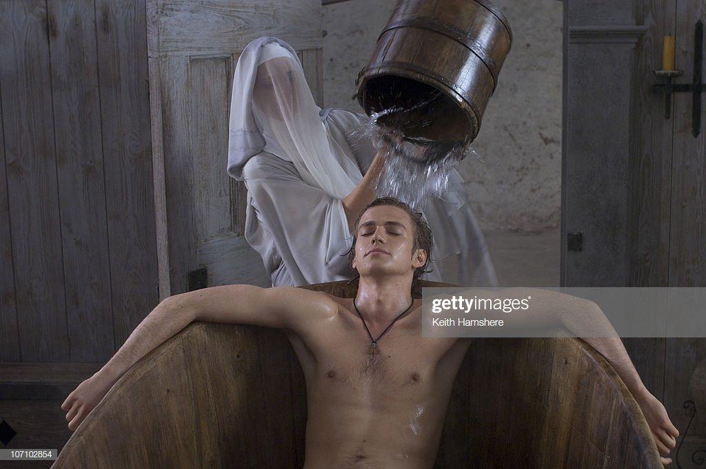 Hayden christensen shirtless
