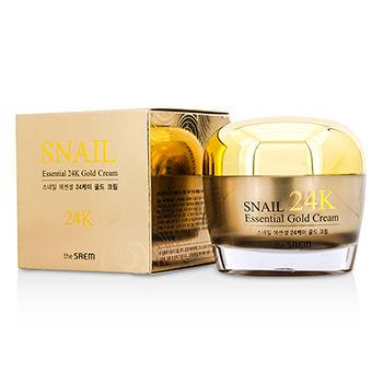The Saem Snail Essential 24K Gold Cream 50ml/1.69oz  #beauty
