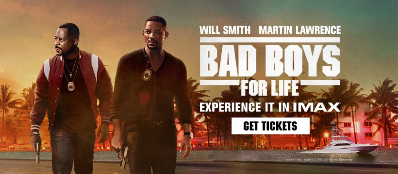Mike and Marcus are coming to #IMAX theatres for the first time, and for their last ride together! Reserve your seat to experience #BadBoysForLife in #IMAX: https://t.co/bVlcxkgLe6 https://t.co/YmZdHKaOb1
