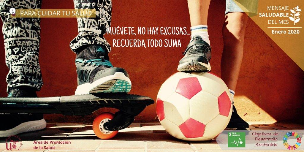 ¡Muévete con la US! El #deporte como estilo de vida, mensaje saludable US de enero: http://bit.ly/38z2InR  Te esperamos en el @SADUSoficial #VivelaUSpic.twitter.com/cWrJoDrw01