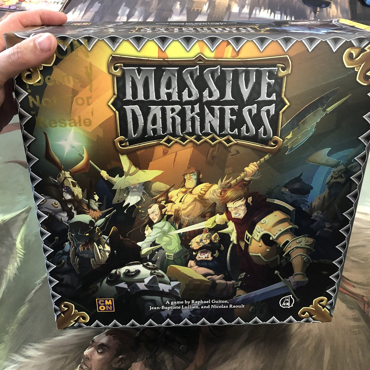 Got to check out Massive Darkness by @CMONGames with @starkdesign. Amazingly detailed minis, unique gameplay, and great character customization. #ttrpg #boardgames #boardgamegeek #massivedarkness #cmongamespic.twitter.com/QYdrCD1CS1