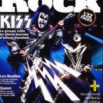 Image for the Tweet beginning: Latest #KISS Magazine Cover: Les