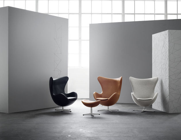 Egg Chair Arne Jacobsen Kopie.Icon On Twitter From An Experimental Clay Model To Pop Culture
