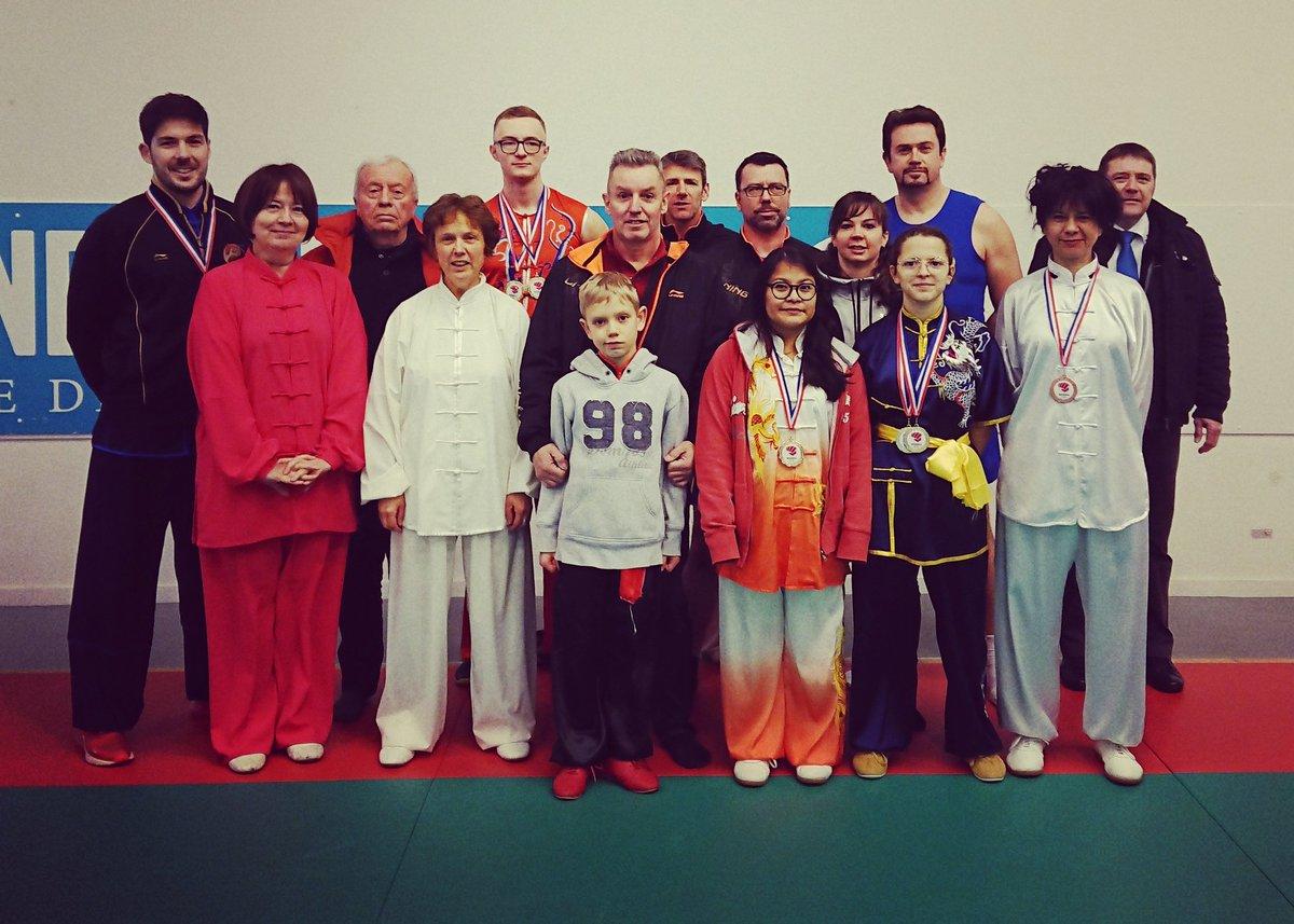#NormandyWushuChampionships  With my  club and athletes of ASAC / ASBEC @asacwushu27  Veteran podium  Golden medal  In Traditional #Kungfu #Taolu  Well done everyone #Wushu #Kungfu #Taijiquan #Sanda #Iwill #RainbowLaces #ChineseNewYear  @ComiteWushu @ffk_eurepic.twitter.com/5KgjzMfzwG – at Dojo Départemental 76