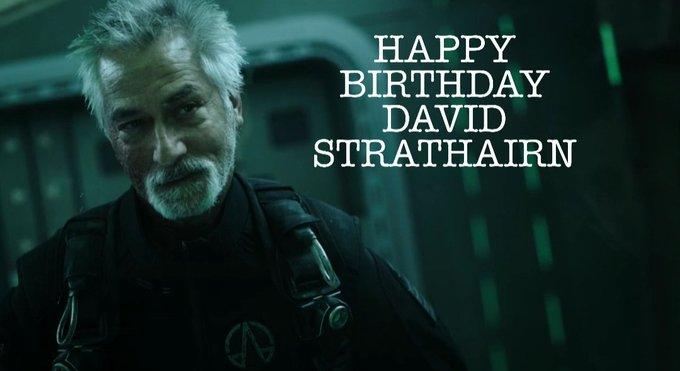 Feliz cumpleaños!/Happy Birthday David Strathairn!!
