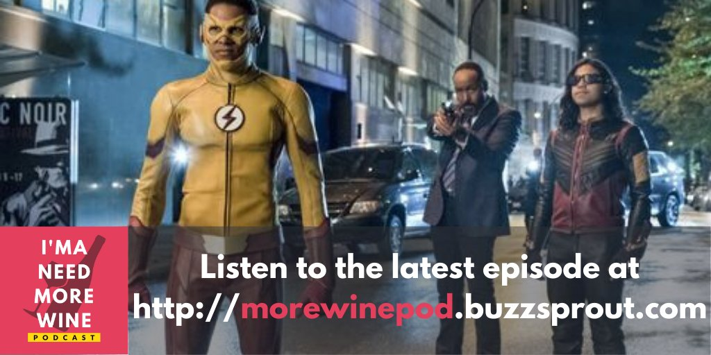 There were a few heroes we would've loved to see in #CrisisOnInfiniteEarths, including #WallyWest AKA Jocelyn's fave cinnamon roll.  Much to our chagrin, @fandomslash revealed his anti-West family agenda.  Listen to Jocelyn & Philip spar over the Wests at http://morewinepod.buzzsprout.com.