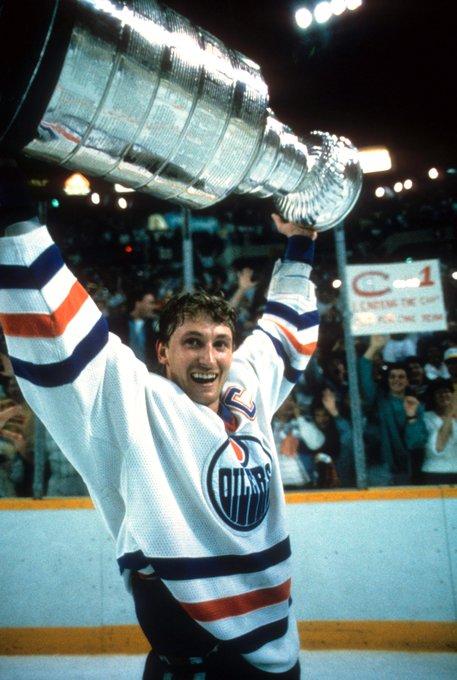 """99 turns 59.  Happy birthday to \""""The Great One,\"""" Wayne Gretzky."""