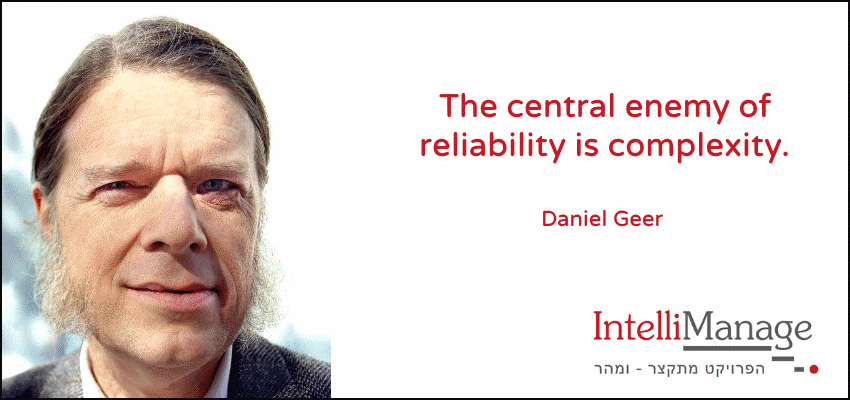 Quote 14: The central enemy......     #simplicity #complexity