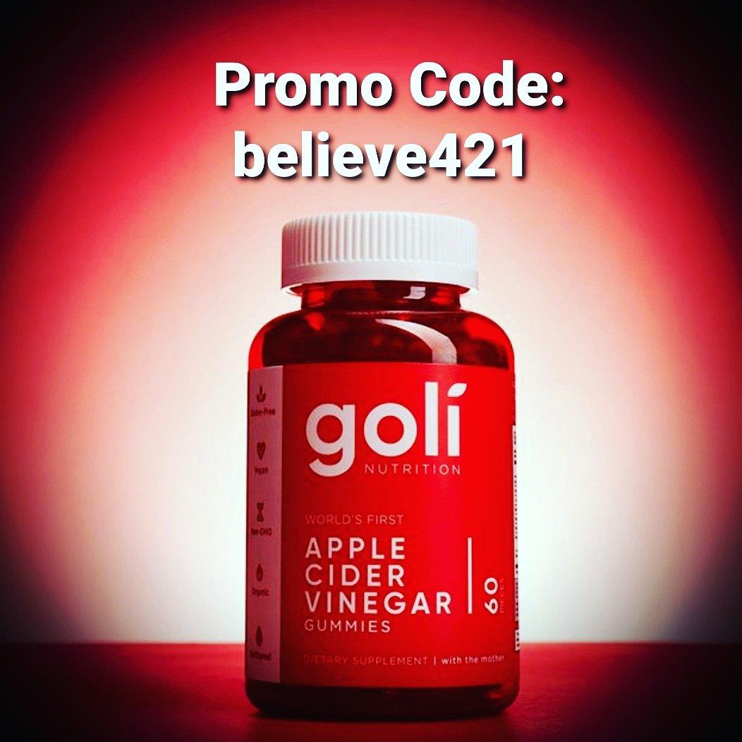 @GoliGummy Apple Cider Vinegar Gummies.. Taste The Apple Not The Vinegar  !!  https://ca.goli.com/?discount_code=believe421… #golinutrition #tastetheapple #paidpartner #weightlossjourney #fitnessgirl #HealthyEating #Vegan #organic #ACVpic.twitter.com/9dFx3fdDb6