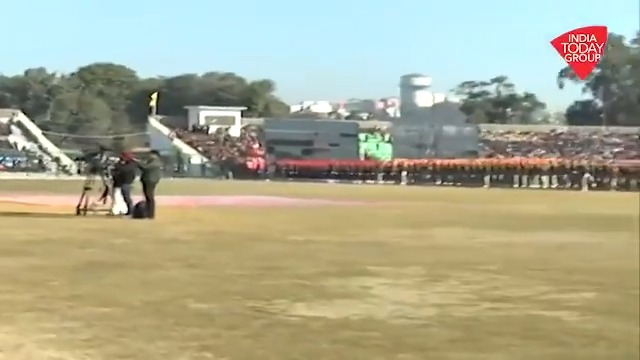 71st #RepublicDay celebrations took place today in the union territory of #JammuandKashmir. India Today's @SunilJBhat brings us the details of first republic day celebration in #JandK since the abrogation of #Article370.#ReporterDiary #RepublicDayIndia | http://bit.ly/IndiaTodaySocial …