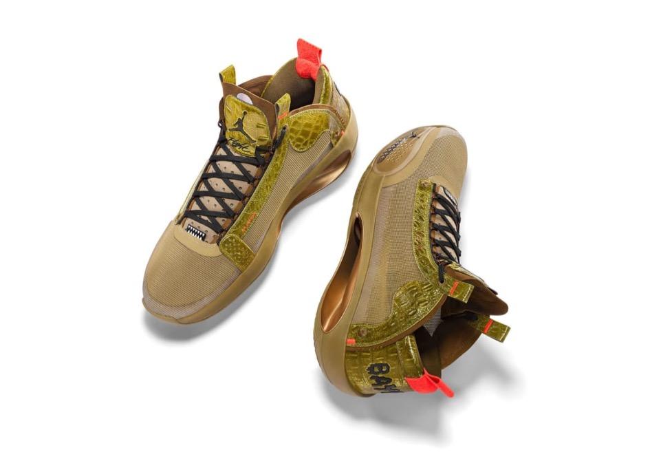 "Zion Williamson x Nike Air Jordan 34 ""Bayou Boys"" PE"
