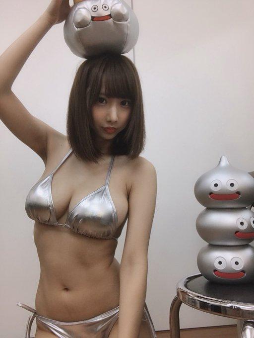 グラビアアイドル小澤らいむのTwitter自撮りエロ画像44
