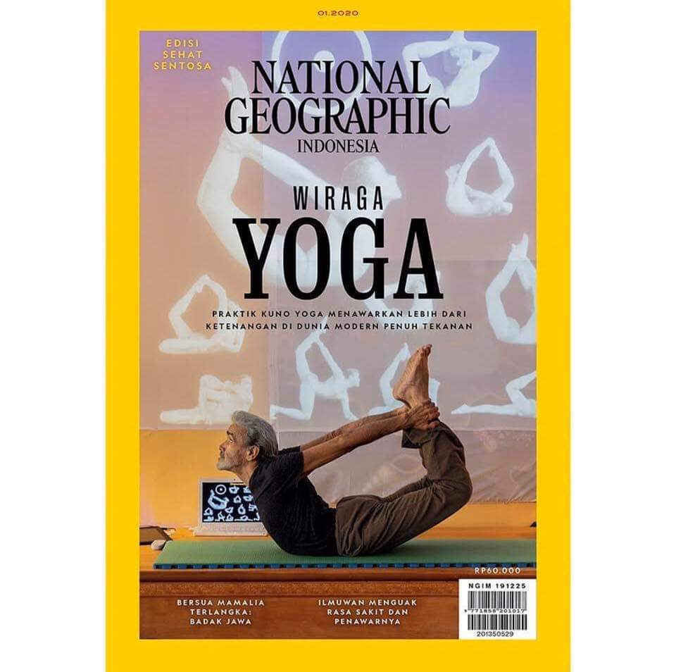 Sri #DharmaMittra on the cover of National Geographic Indonesia ~ amazing!  Thank you NatGeo and photographer Andy Richter for the beautiful photo.  <br>http://pic.twitter.com/DCZB3Pj8VZ