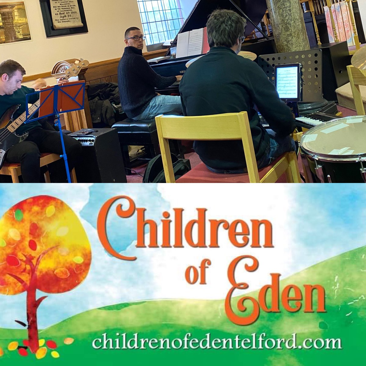 Rehearsal number 2 of the day...Children of Eden band call   .  #star #actors #actor #actorslife #actress #instamovies #musical #livemusic #concertphoto #newmusic #livephotography #musiclife #rockphotography #concertphotography #concertjunkie #musicphotographypic.twitter.com/03OhDL4www