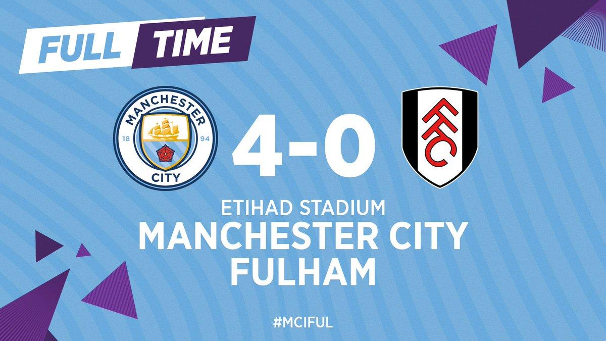 Manchester City 4-0 Fulham, 27/01/2020