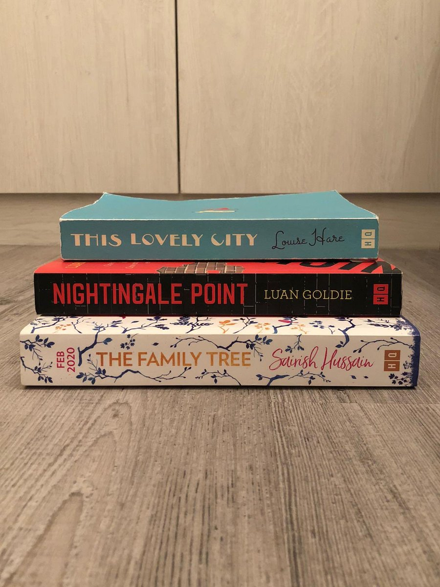 Last year at #destinationhq @HQstories I met the lovely @LouRHare @LuanGoldie & @sairish_hussain & devoured all of these books!!! Nightingale Point is out already in paperback and the other 2 will be out soon! Stay tuned for reviews from us  Incredible talent #bookstagram pic.twitter.com/N9lVNNWFxa