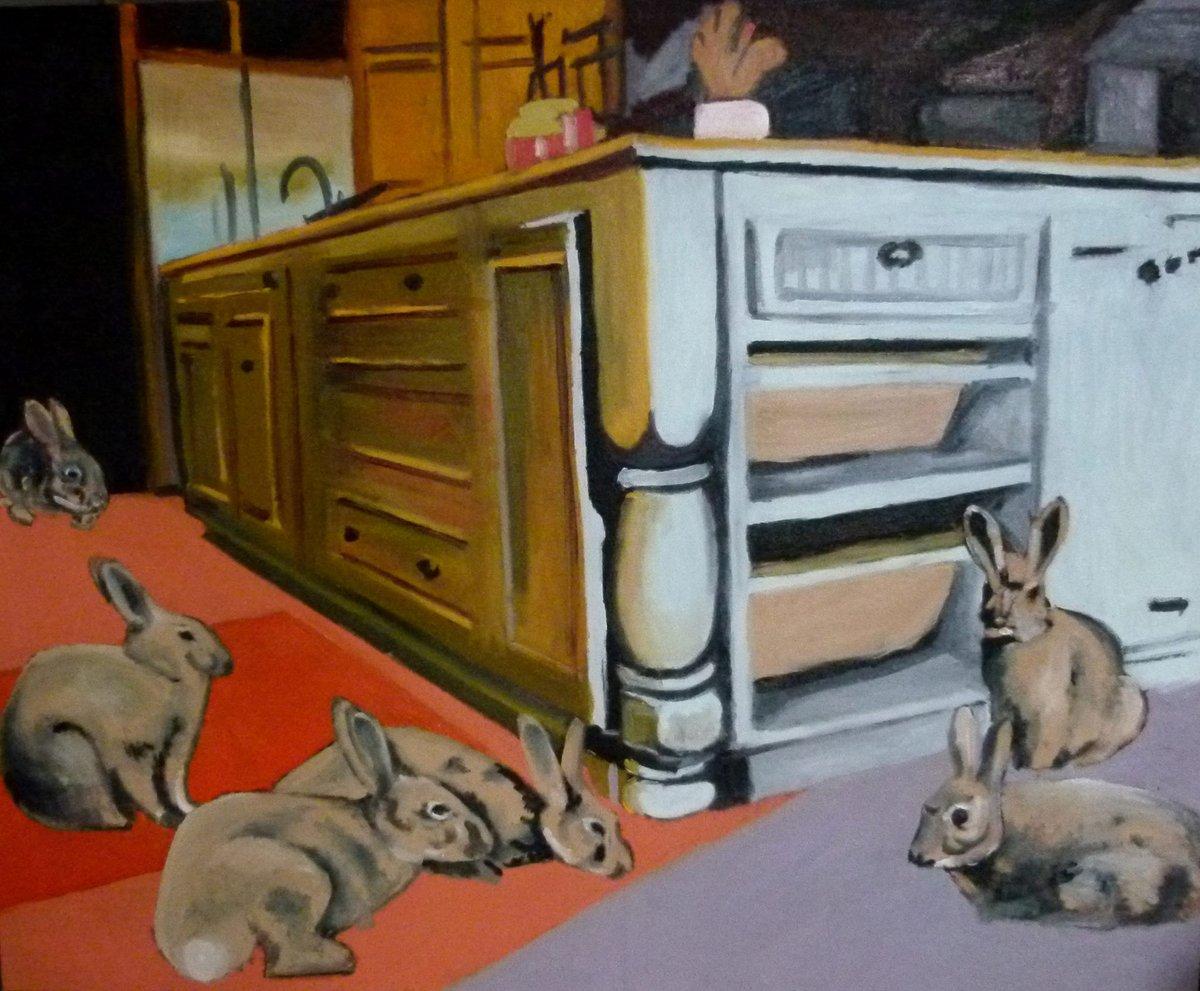 #rabbit #paintings #artforsale #canvas #art #contemporary #game #fineart #animals #modern #oil #artgallery #contemporaryart #gallery #artists  #homedecor #Creative #contemporaryartist #oilpainting #BlackFriday  https://saatchiart.com/art/Painting-Rabbits/457748/2837401/view…pic.twitter.com/jk4Fg2df43