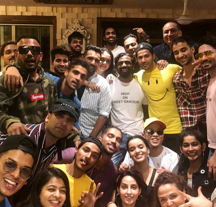 Hats off to the team for making the experience even more beautiful!!! It is the team who unites to create the film!!!  @Varun_dvn @ShraddhaKapoor @PDdancing @Norafatehi @punitjpathak @TheRaghav_Juyal @SalmanYKhan @dthevirus31 #sushantpujari @remodsouza