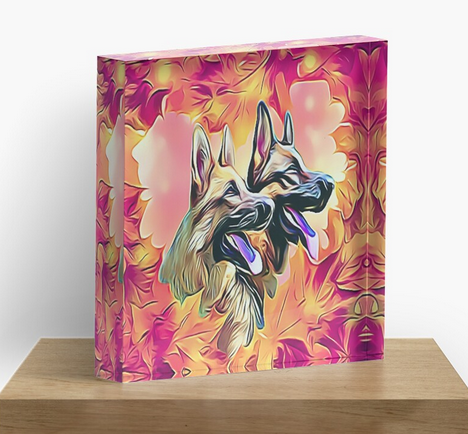 1 Inch Thick, 3D #AcrylicBlock Featuring a #GermanShepherds Design on a clear plexiglass block featuring a vibrant back mounted Art Print. Available in Square. Perfect for a Desk, Bookcase, or Windowsill 2 Sizes Available 4 x 4 x 1 or 6 x 6 x 1 http://bit.ly/GermanShepherdsBloc …pic.twitter.com/rDoz0wTK2h