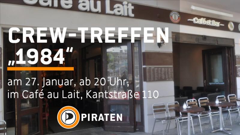 Diesmal an noch zentralerem Ort im Bezirk. #Piraten #Charlottenburg-#Wilmersdorfpic.twitter.com/FH8e6zg0pQ