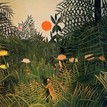 Image for the Tweet beginning: Henri Rousseau @artrousseau #frenchart #artontwitter