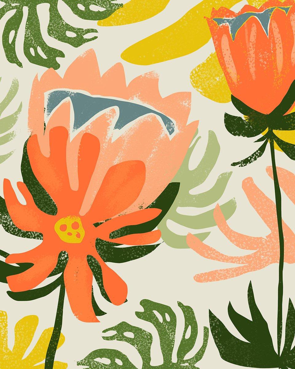 """May the flowers remind us why the rain was so necessary.""  . #illustrations #illustrationartists #etsyshop #illustrators #artprints #illustration #walldecor #digitalart #contemporaryart #emergingartist #painting #procreate #artcurator #artist #83oranges #society6 #artforsalepic.twitter.com/OiPhoCPQYG"