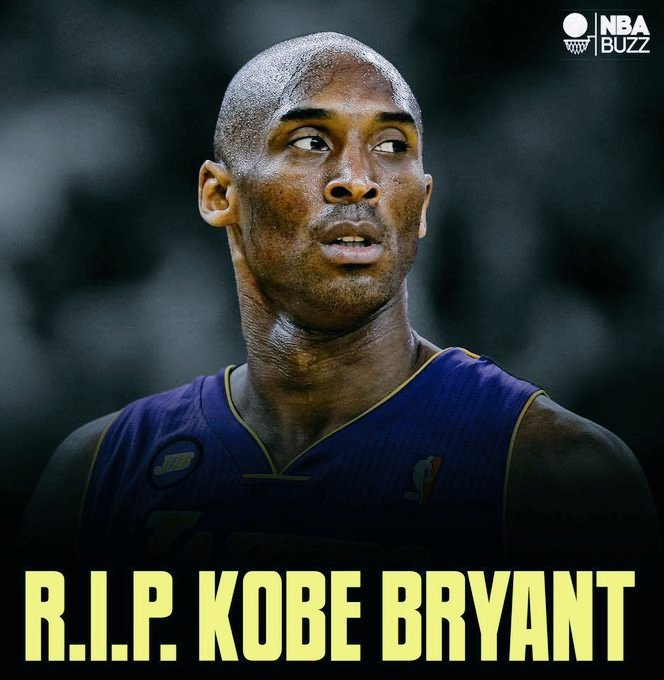 Bruh swear to god  I can't even believe this RIP THE GOAT #KobeBryant  We will miss you.pic.twitter.com/kKA6h6tDcr