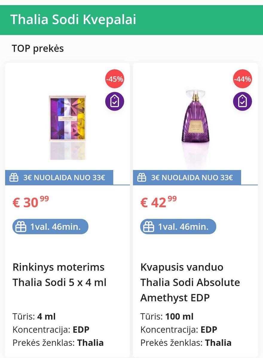 Thalia Sodi fragrances disponible en Lituaína 🇱🇹  #thalia #yatumeconoces #thequeenoflatinpop #thaliasodi #thaliasodifragrancecollection